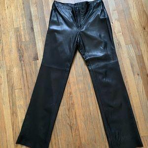 Banana Republic Leather Pants, 12